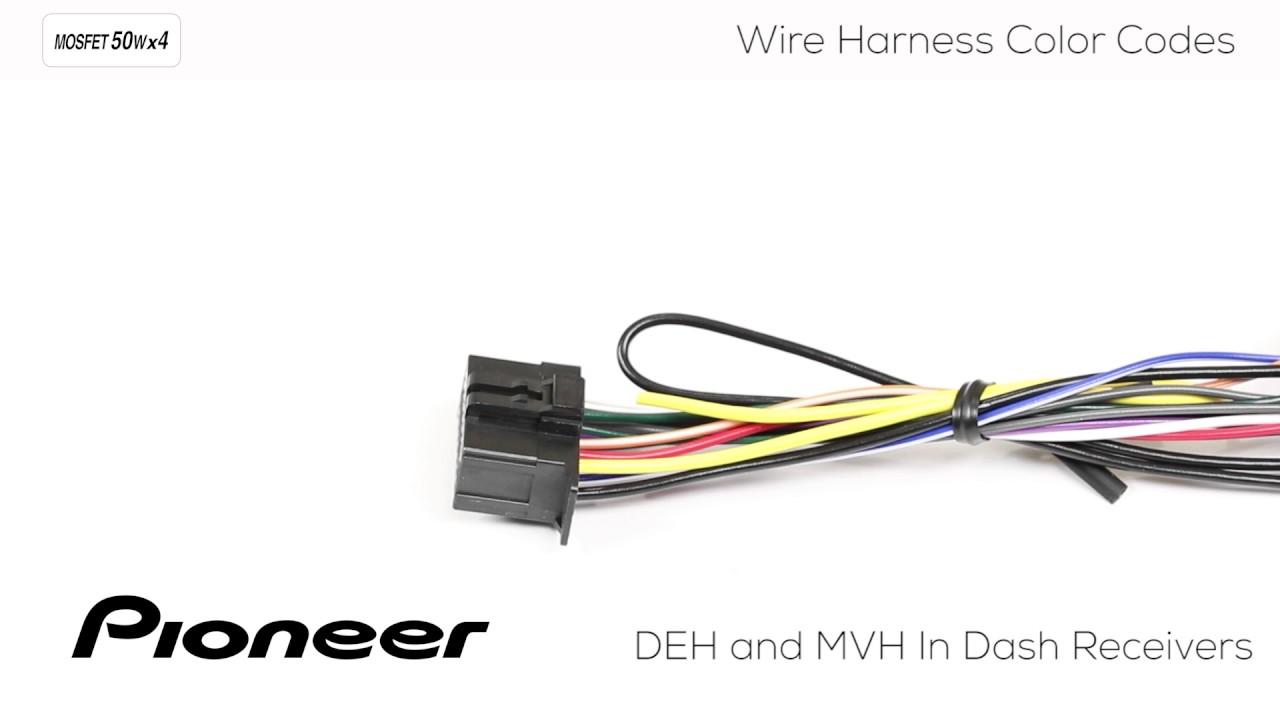 Pioneer Deh S1010ub Wiring Diagram
