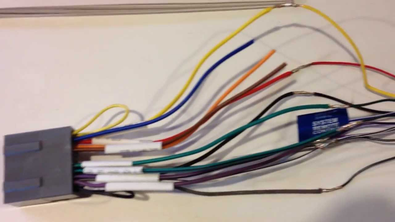 Pioneer Deh X1810ub Wiring Diagram