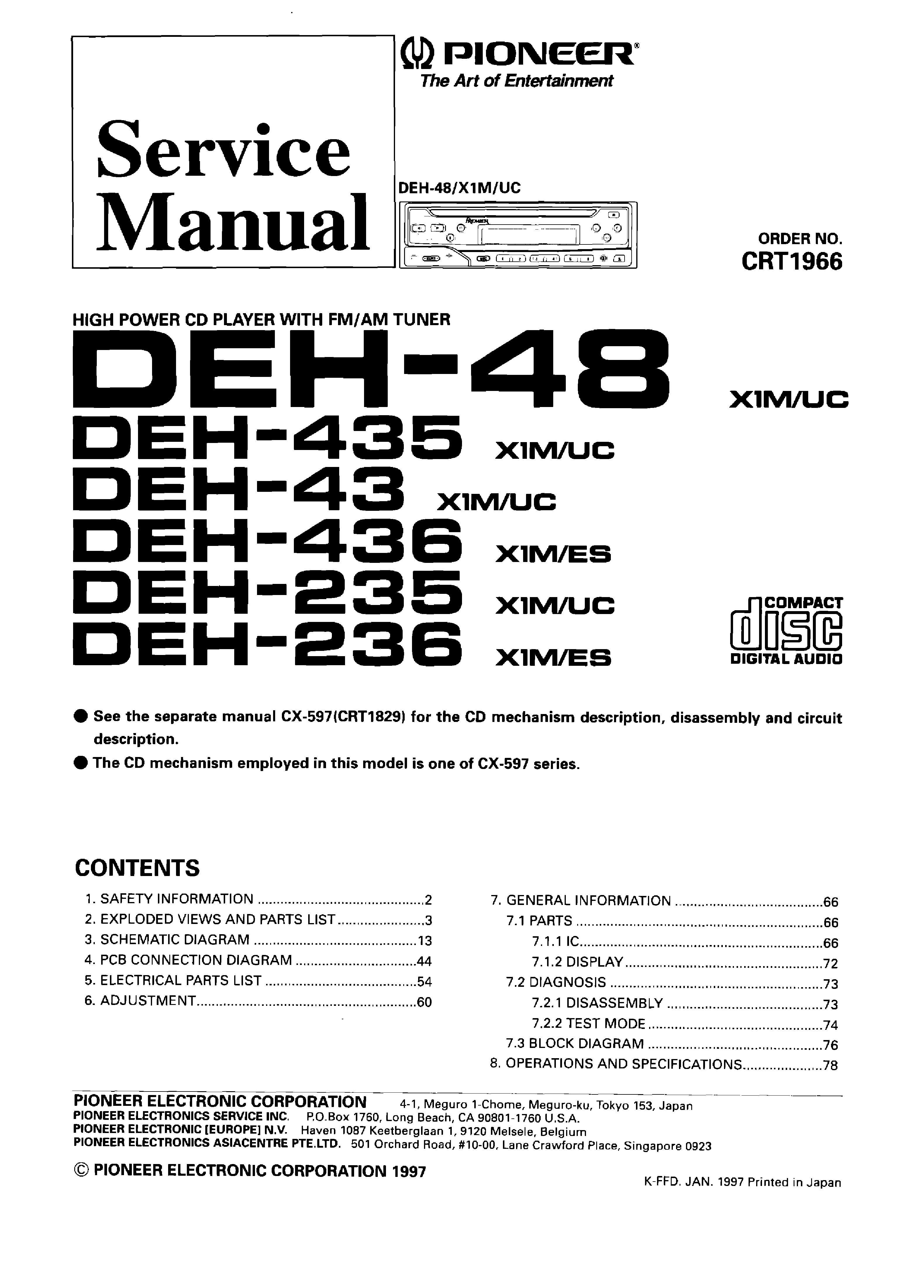 Pioneer Deh X6500Bt Wiring Harness Diagram from schematron.org
