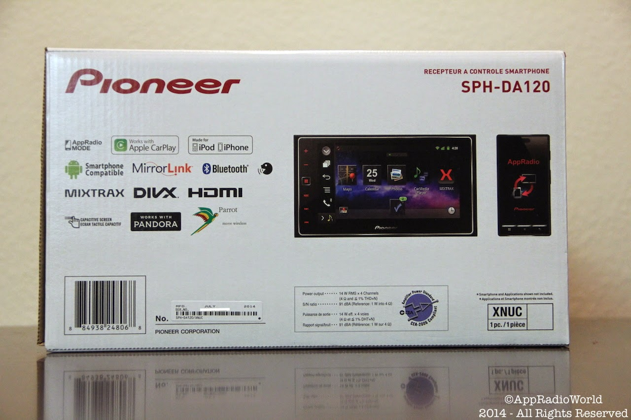 Pioneer Sph Da120 Wiring Diagram Electronics