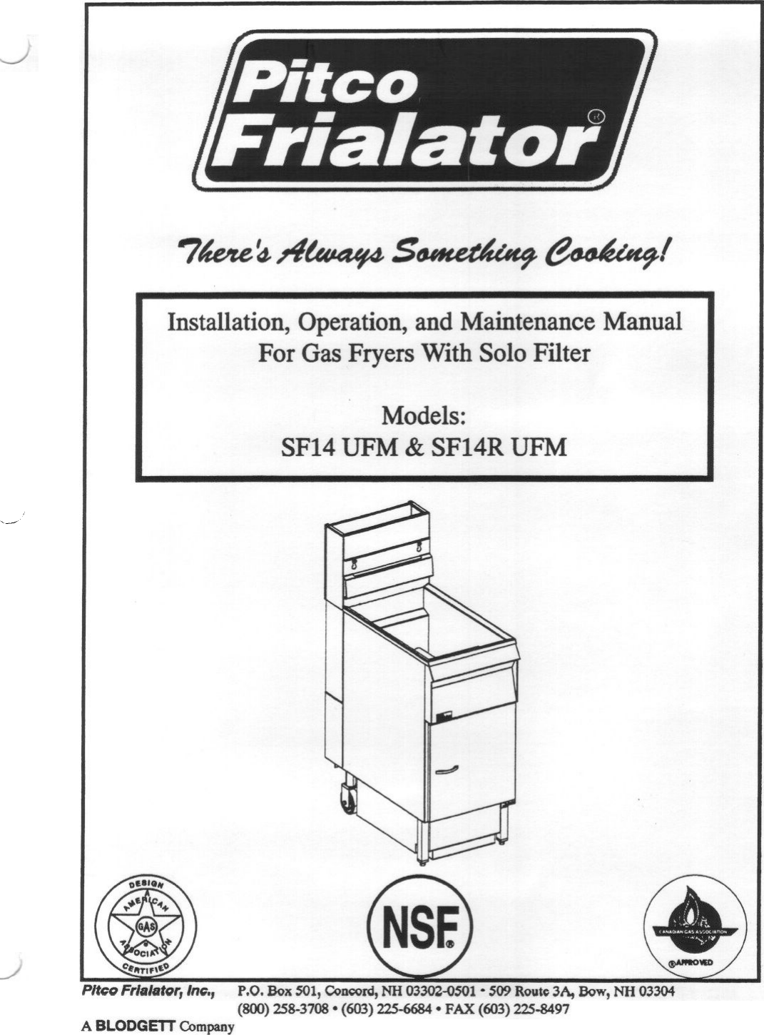 Pitco Fryer Wiring Diagram