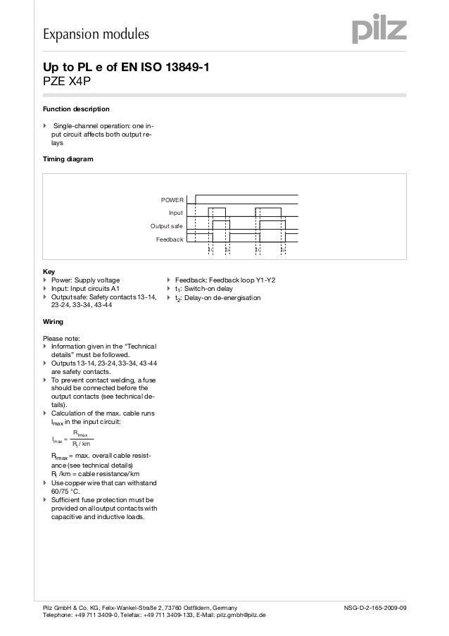 Pnoz X7 Wiring Diagram