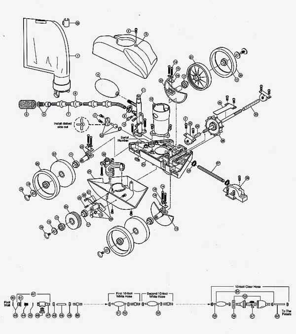 polaris 360 exploded parts diagram Shotgun Parts Diagram