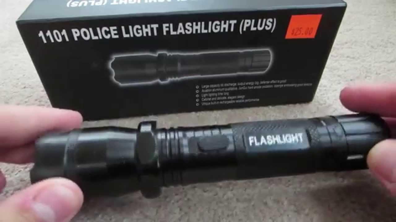 Police Flashlight Taser 1101 Wiring Diagram