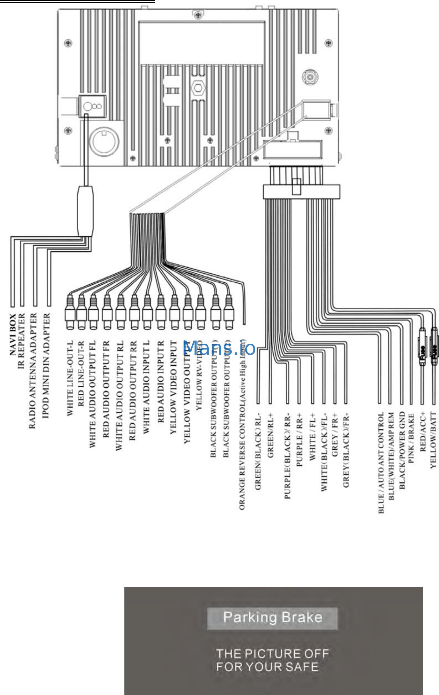 Power Acoustik Wiring Diagram Wiring Database