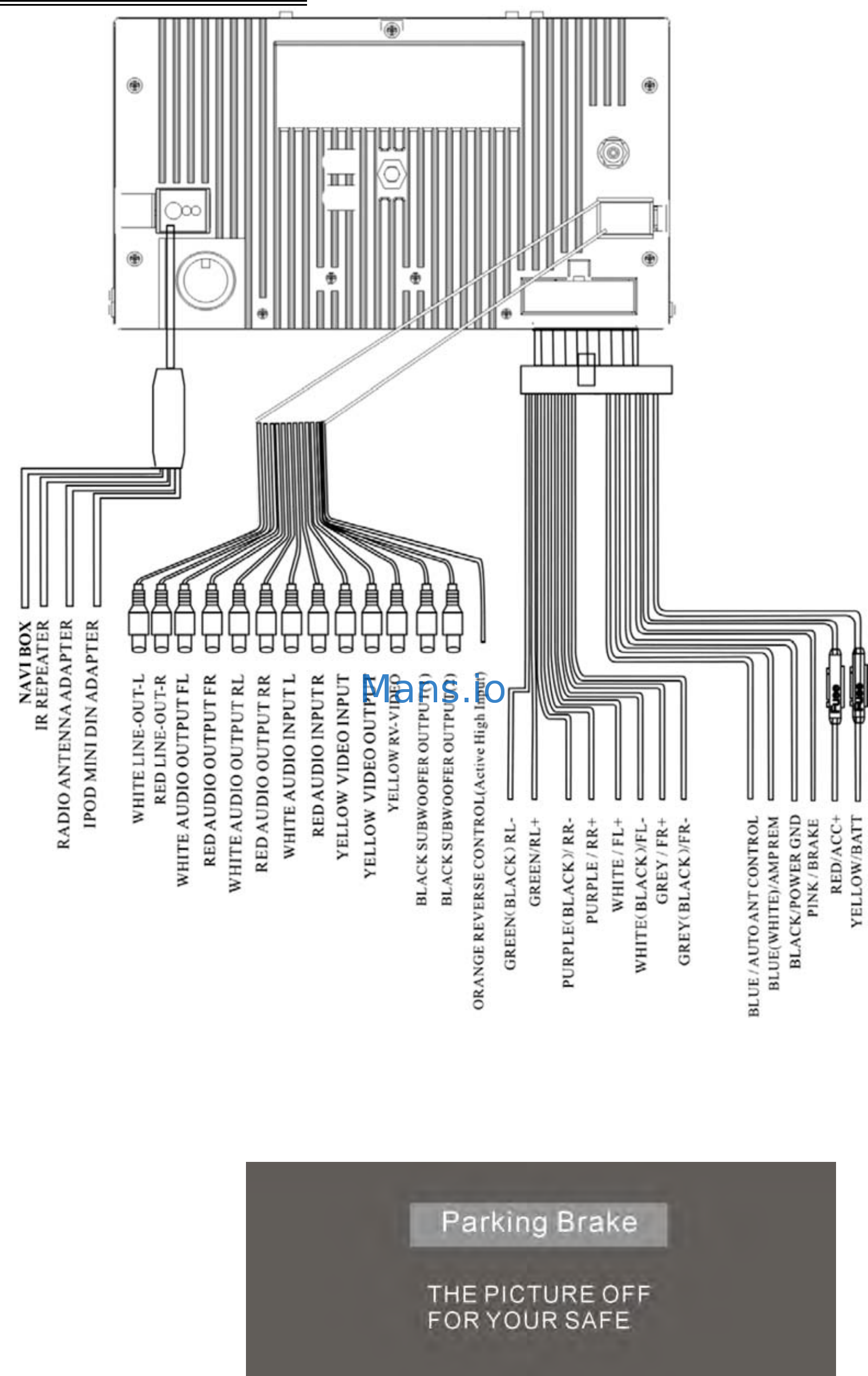 Power Acoustik Pdn-626B Wiring Diagram from schematron.org