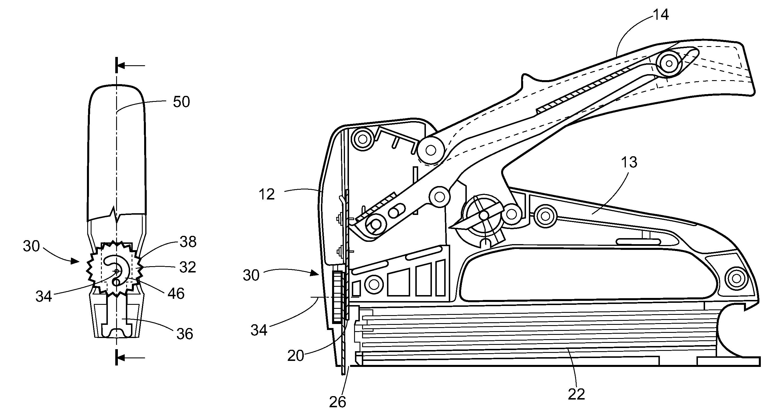 Powershot Stapler Assembly Diagram