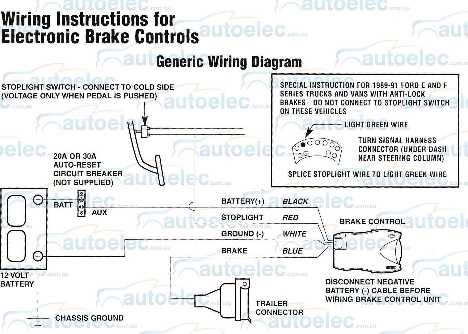 Primus Electric Brake Controller Wiring Diagram