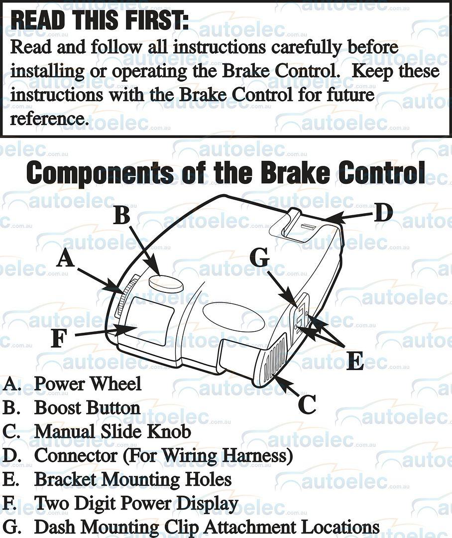 primus electric brake controller wiring diagram Ford Brake Controller Wiring Diagram