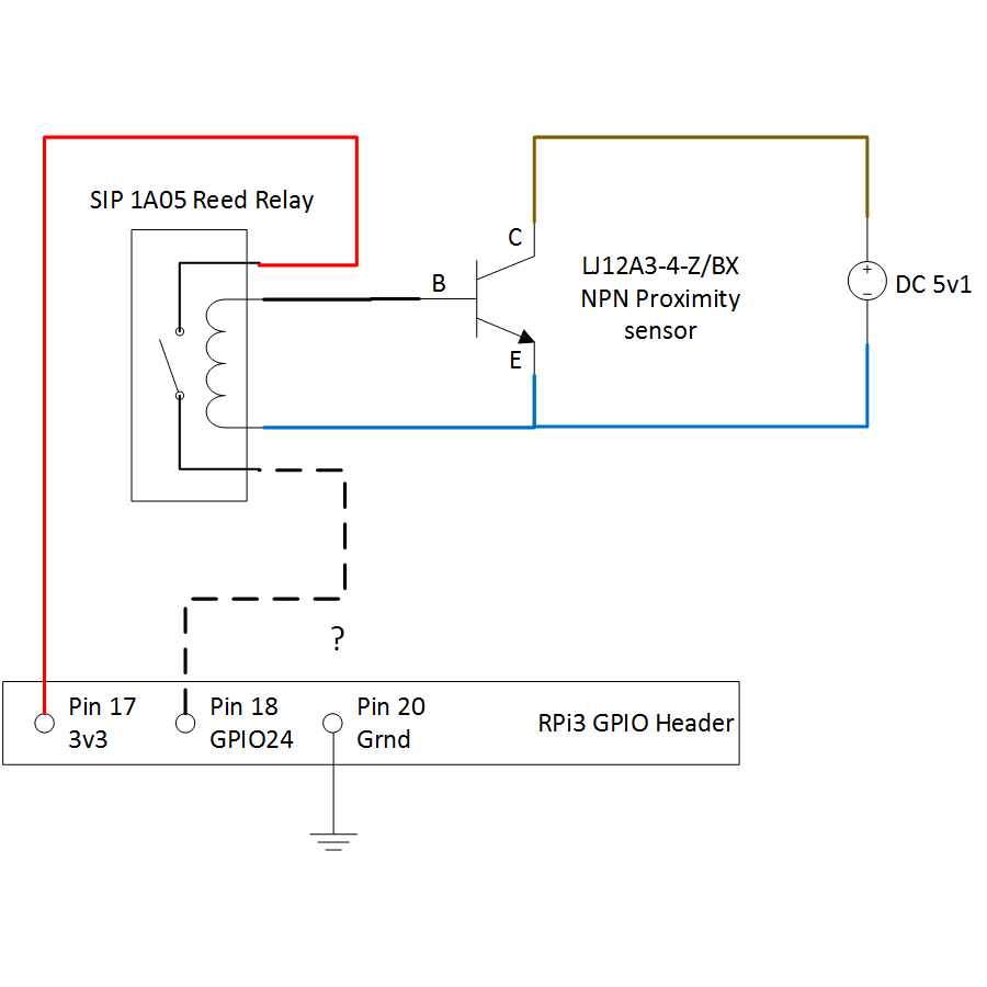 Prox Switch Wiring Diagram