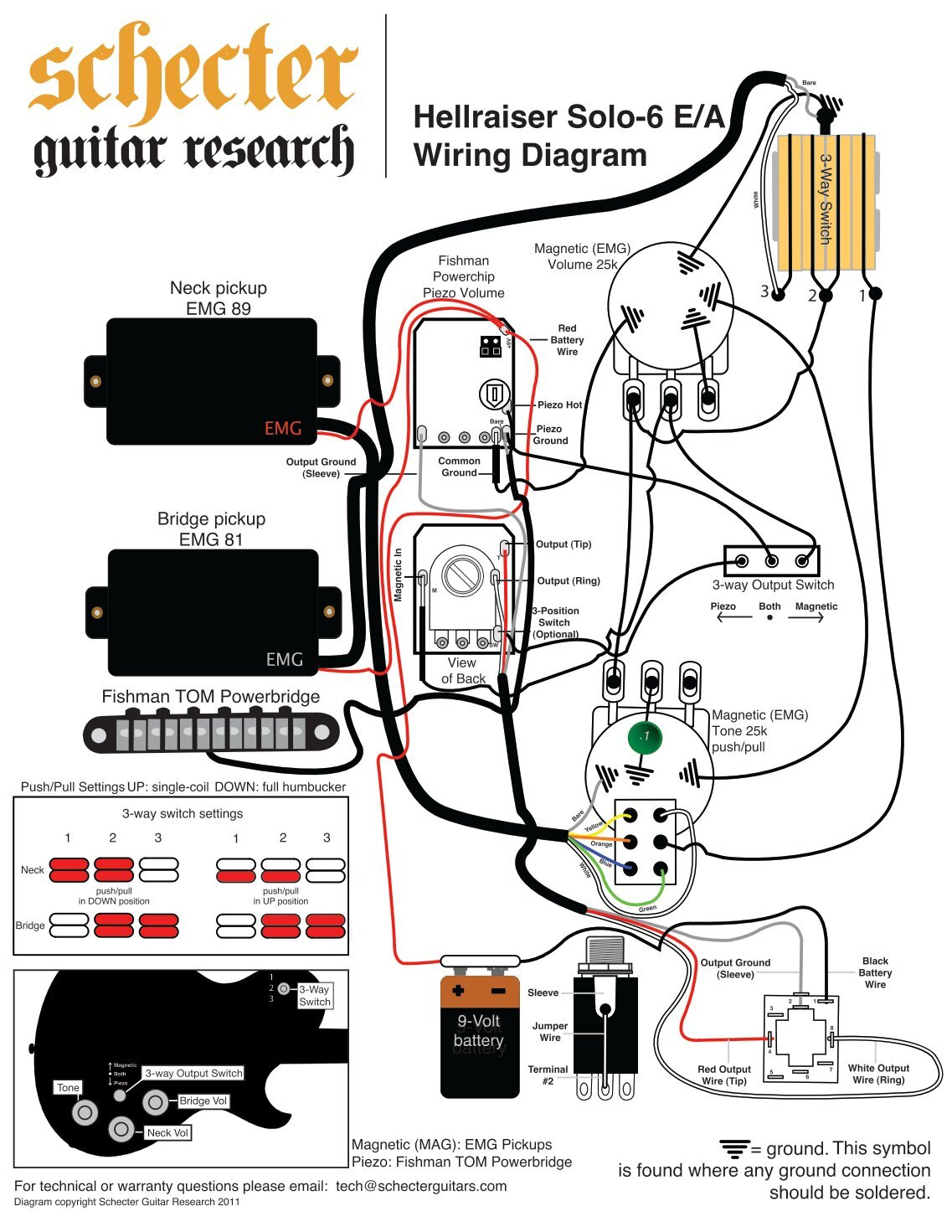 Prs S2 Wiring Diagram