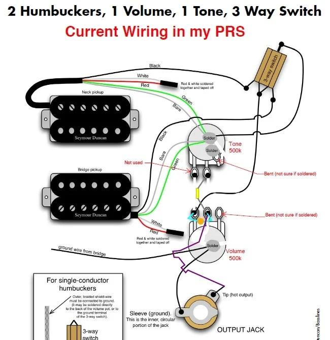 Prs Se Custom Wiring Diagram
