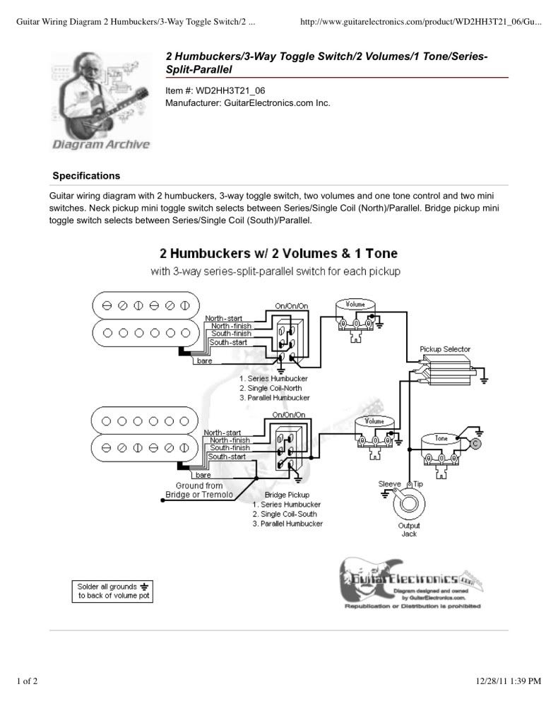 Prs Wiring Diagram Push Pull