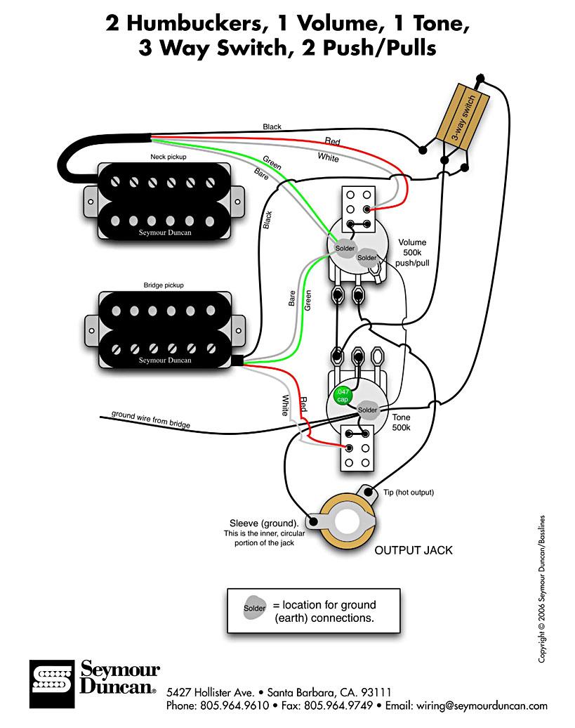Prs Wiring Diagram Push Pull