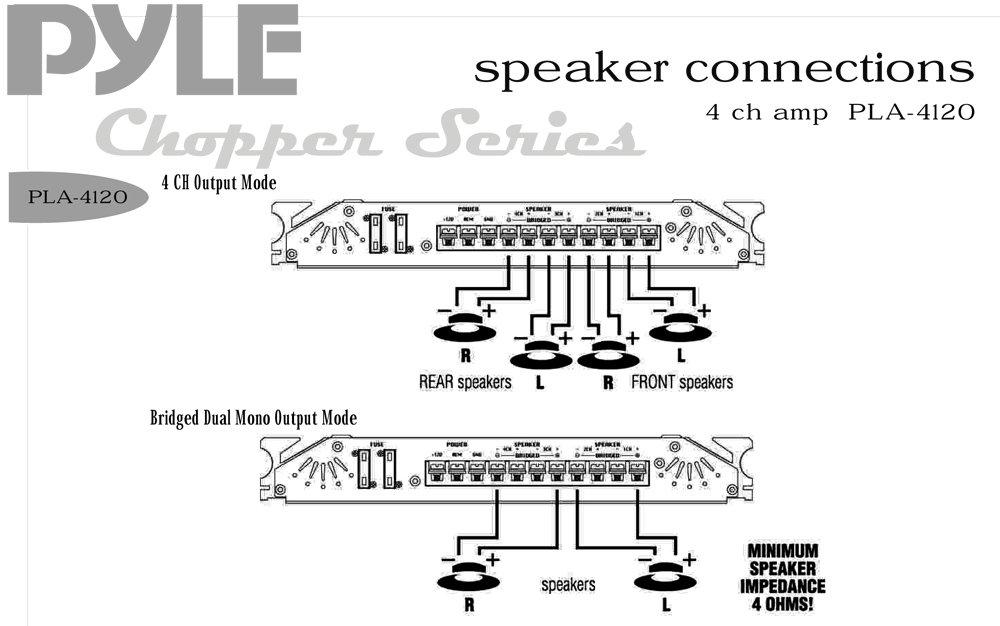 8 Channel Amp Wiring Diagram  Wds  Wiring Diagram Database