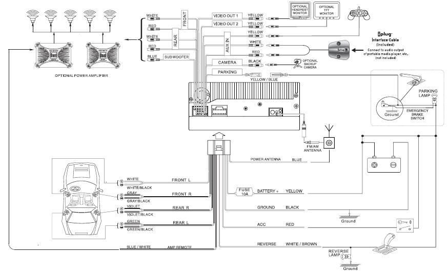 Pyle Plts73fx Wiring Diagram