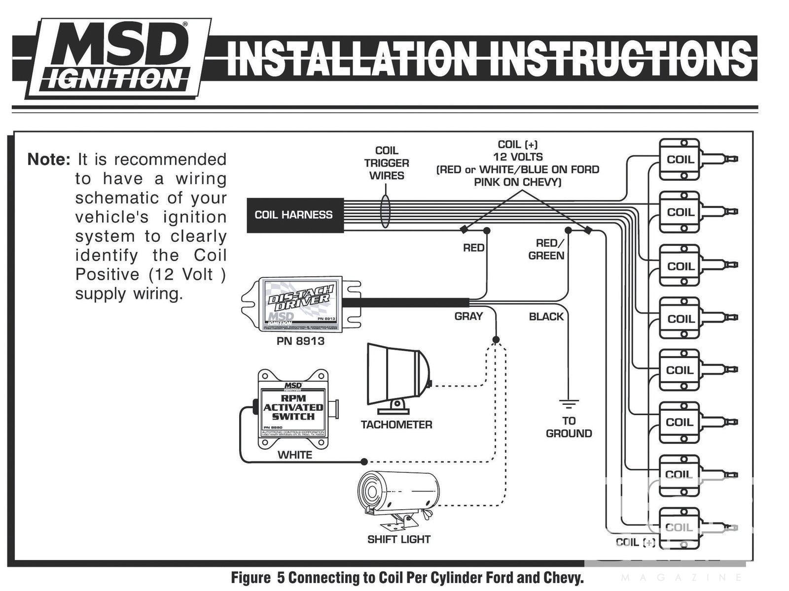 Quickcar Tach Recall Wiring Diagram