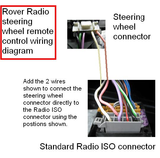 Radio Wiring Diagram 2008 Sx4 Steering Controls