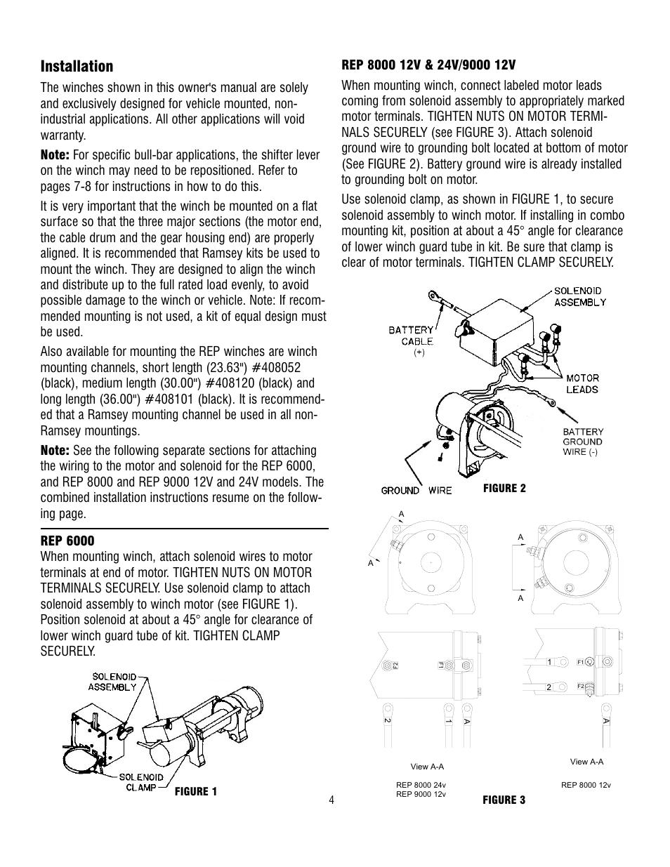 desert dynamics, warn m6000, warn rt25, on 2 post winch motor wiring diagram