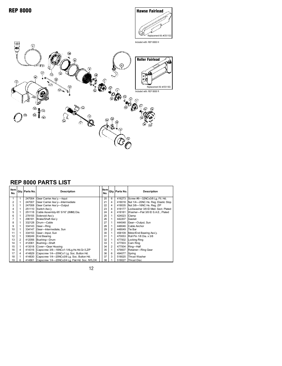 Old Ramsey Winch Wiring Diagram - Wiring Diagrams on