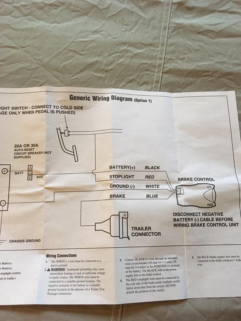 Reese Brakeman Wiring Diagram
