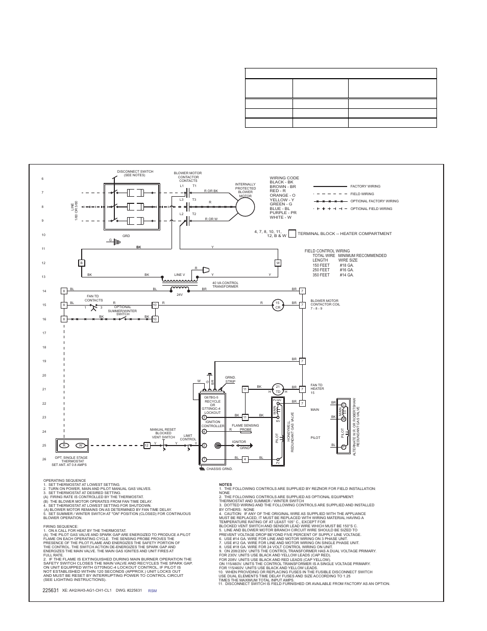 Reznor Furnace Wiring Diagram Cl 1