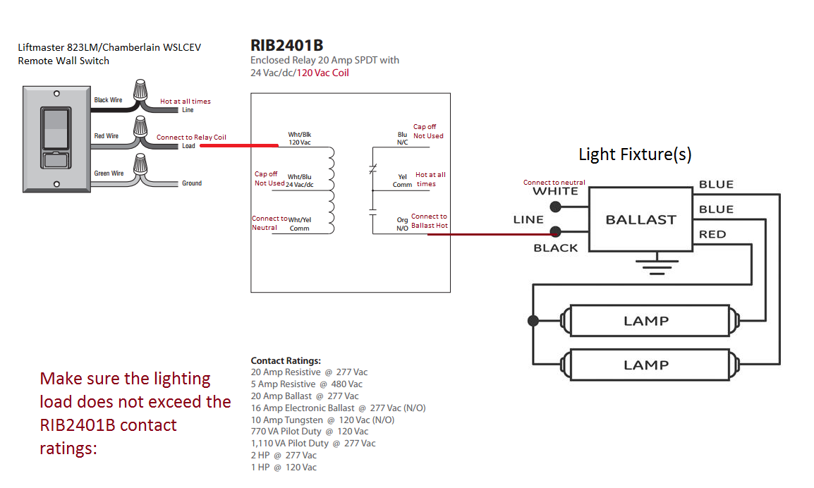 Ribu1c Relay Wiring Diagram