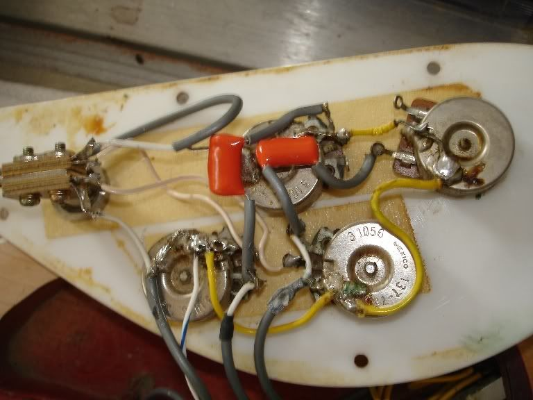 Rickenbacker Bass Wiring