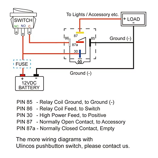 Rls125 Relay Wiring Diagram