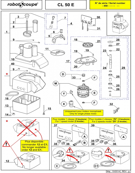 Robot Coupe R2 Wiring Diagram