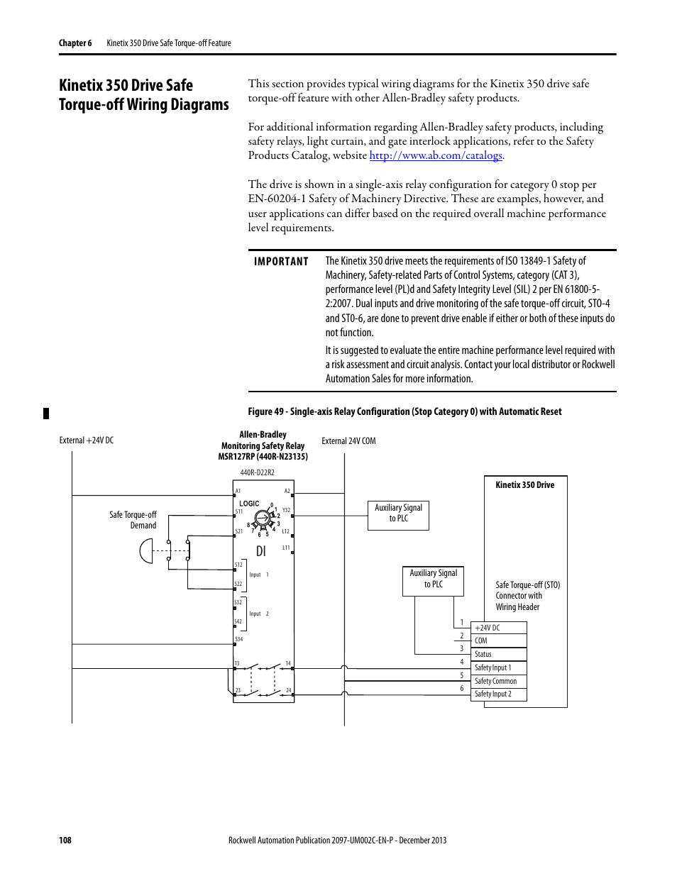 Rockwell Automation 440rd22r2 Wiring Diagram on