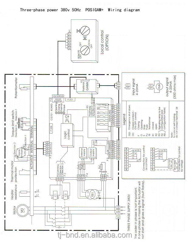 Rotork Iq Wiring Diagram