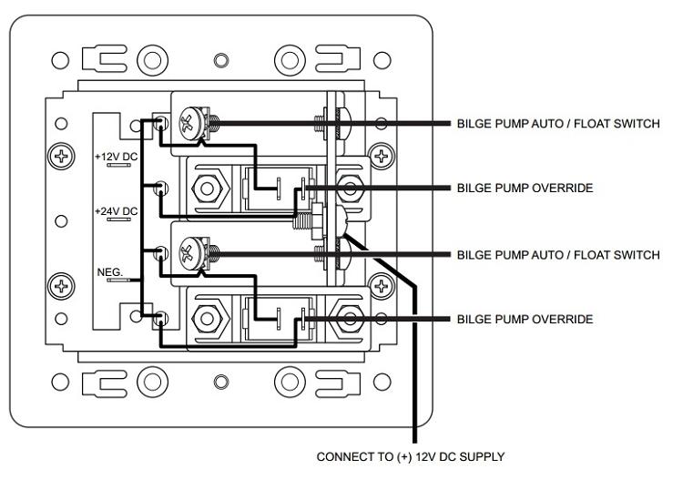 Rule 800 Bilge Pump Wiring Diagram