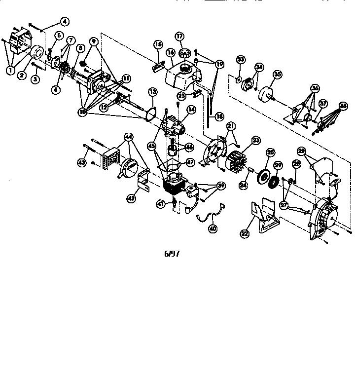 Ryobi Tiller Fuel Line Diagram