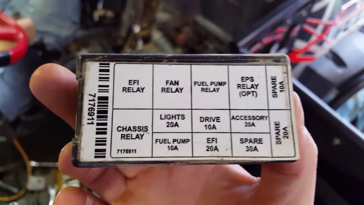 Rzr 1000 Xp Term Fuse Box Wiring Diagram
