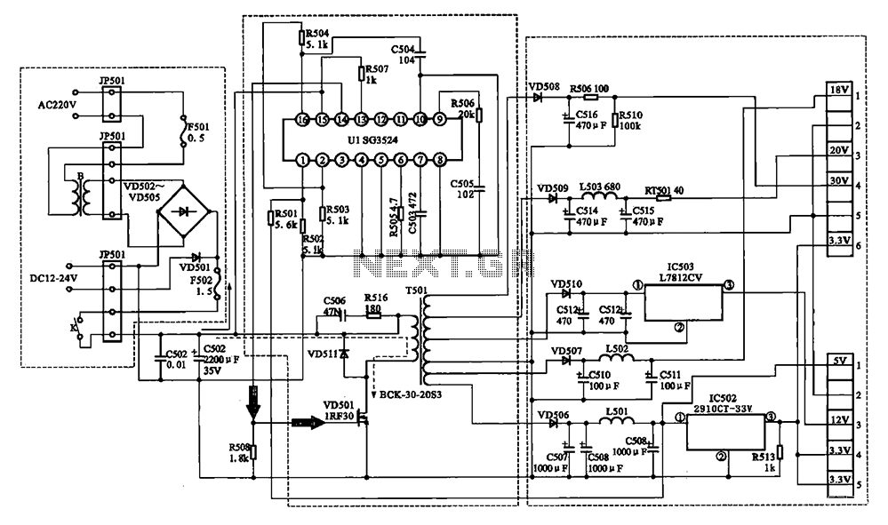 S8610u Wiring Diagram