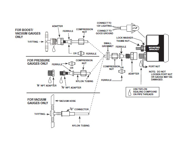Saas Volt Gauge Wiring Diagram
