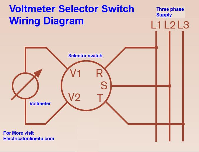 Salzer Ammeter Selector Switch Wiring Diagram