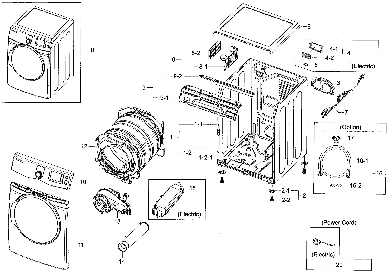 Samsung Steam Dryer Dv350aep Wiring Diagram on