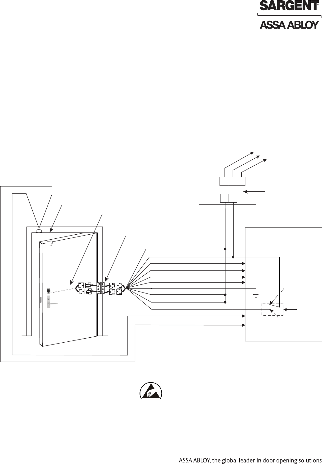 sargent harmony h1 wiring diagram
