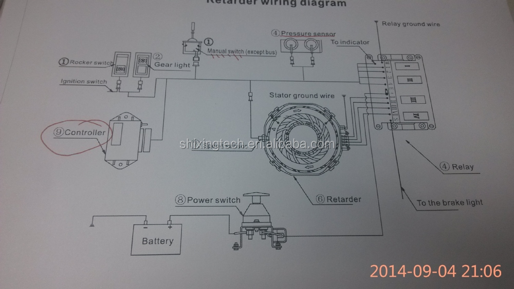 Scania R420 Wiring Diagram