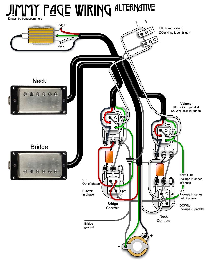 Schecter Wiring Diagram