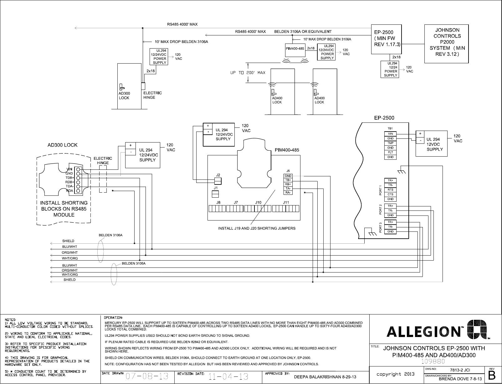 Schlage Maglock Wiring Diagram