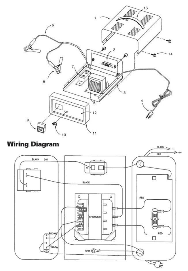 Schumacher Battery Charger Wiring Diagram Se