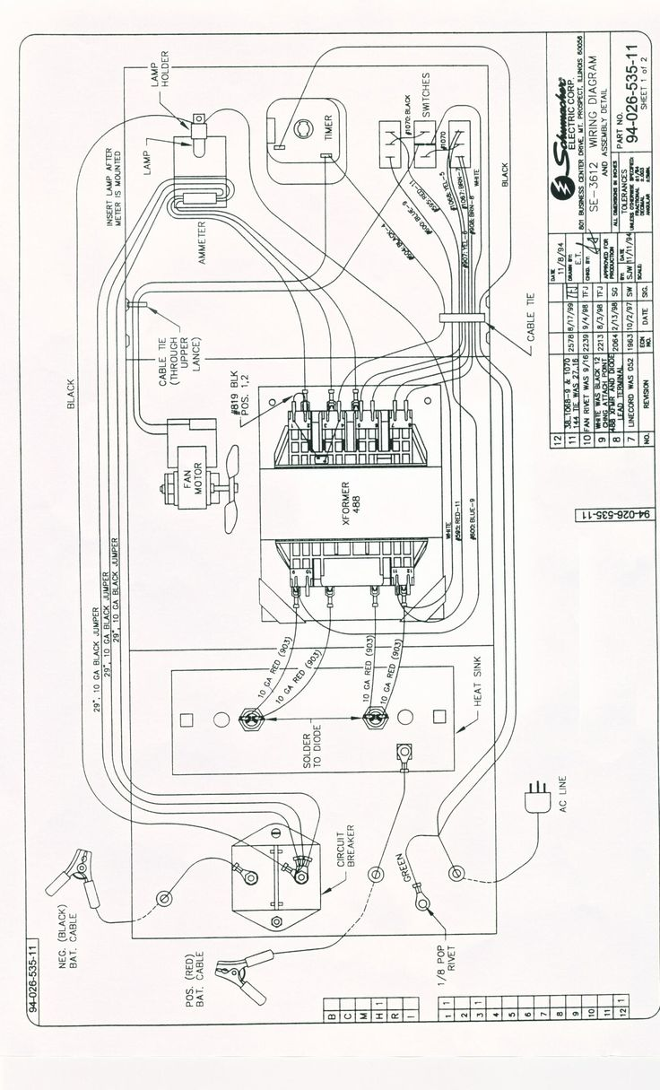 schumacher xp400w wiring diagram