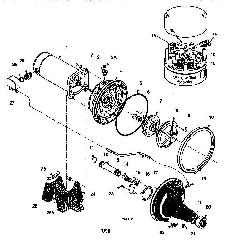 Sears 1hp Jet Pump Wiring Diagram