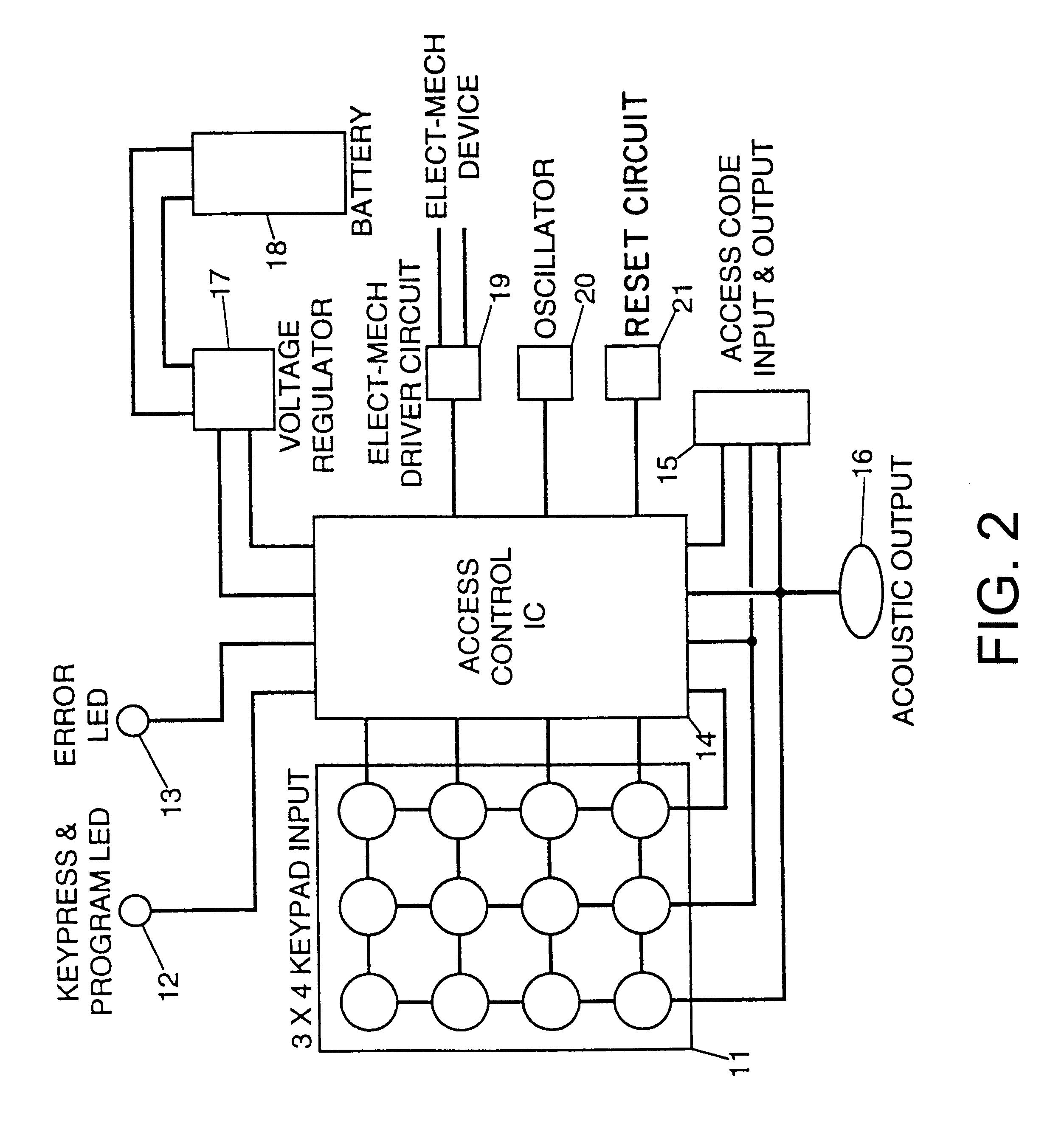 Sentry Safe Wiring Diagram