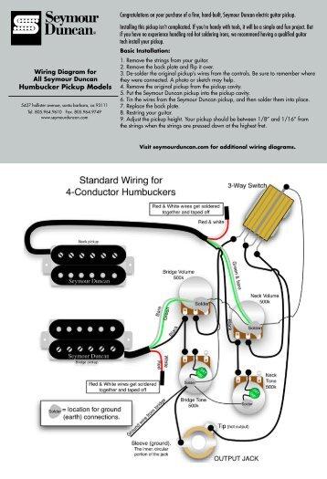 Seymour Duncan 59 Wiring Diagram