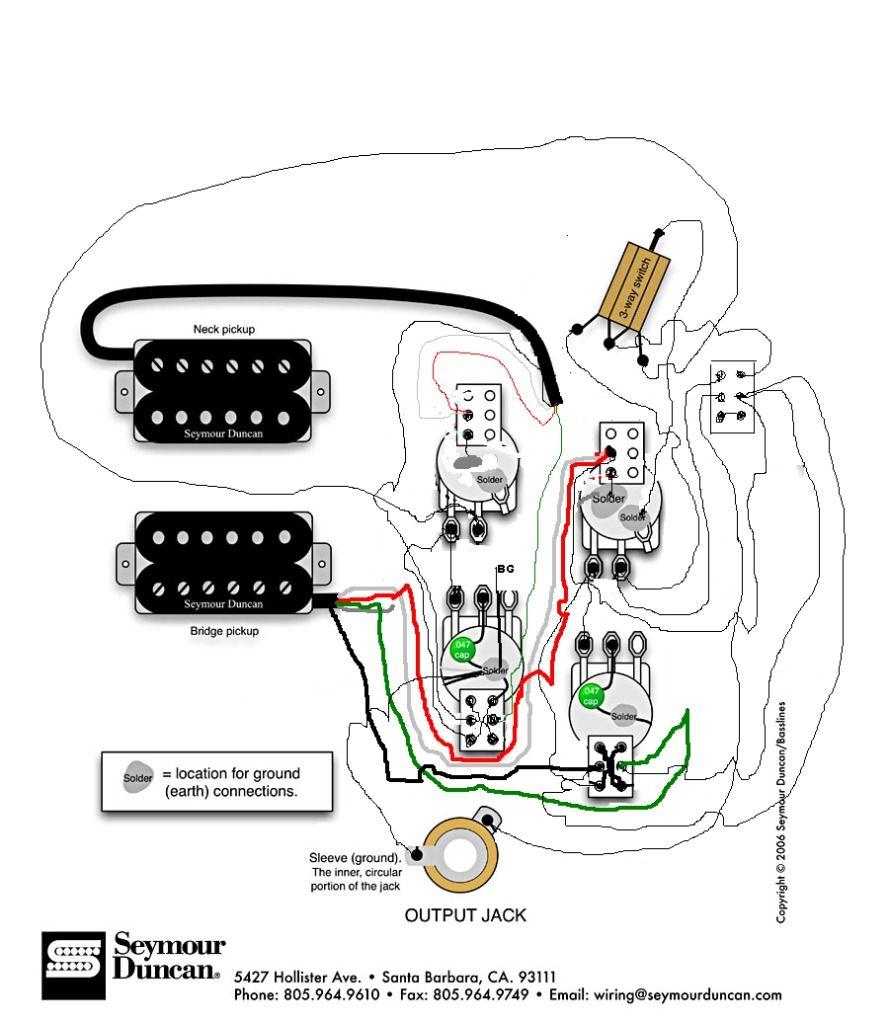 Seymour Duncan Firebird Wiring Diagram