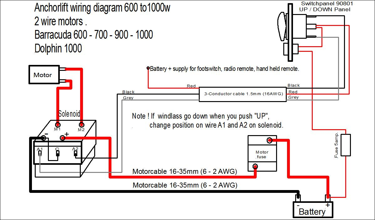 Side Power Thruster Wiring Diagram